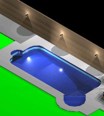 Jacuzzi Swimming Pool 3d Dwg Model For Autocad Designs Cad