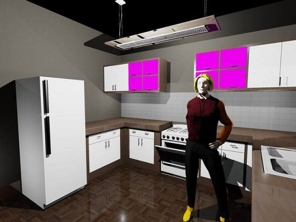 Kitchen 3D DWG Full Project For AutoCAD