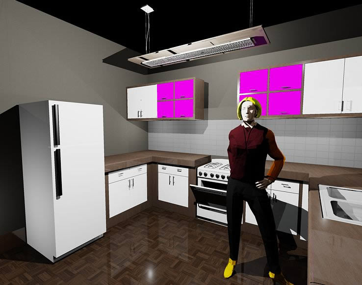 Kitchen 3d Dwg Full Project For Autocad Designs Cad