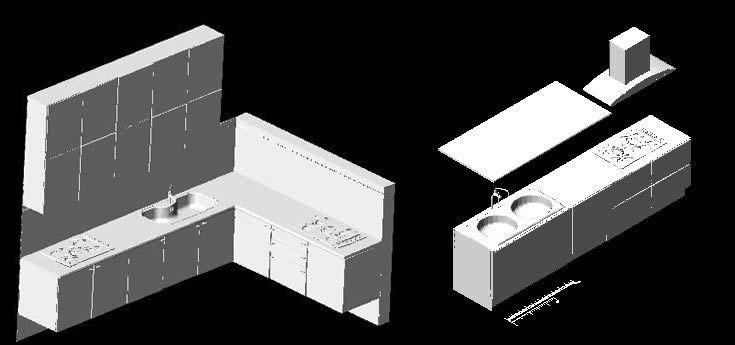 Kitchen 3d dwg model for autocad designs cad for Muebles 3d autocad