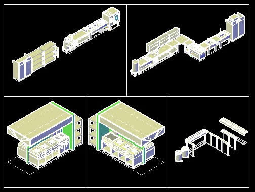 Layout Design For A Commercial Kitchen Dwg Block For