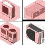 Revit Templates – Air Conditioner RFA CAD Drawing