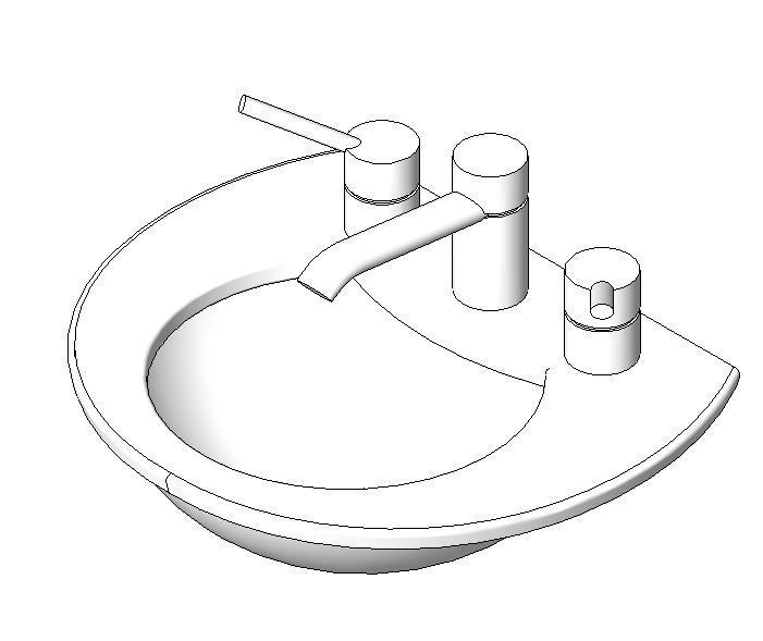 sink 3d dwg model for autocad  u2022 designs cad