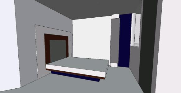 Themed Bedroom 3d Dwg Plan For Autocad Designscad