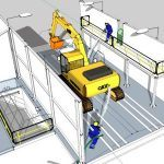 Truck Wash 3D SKP Model for SketchUp