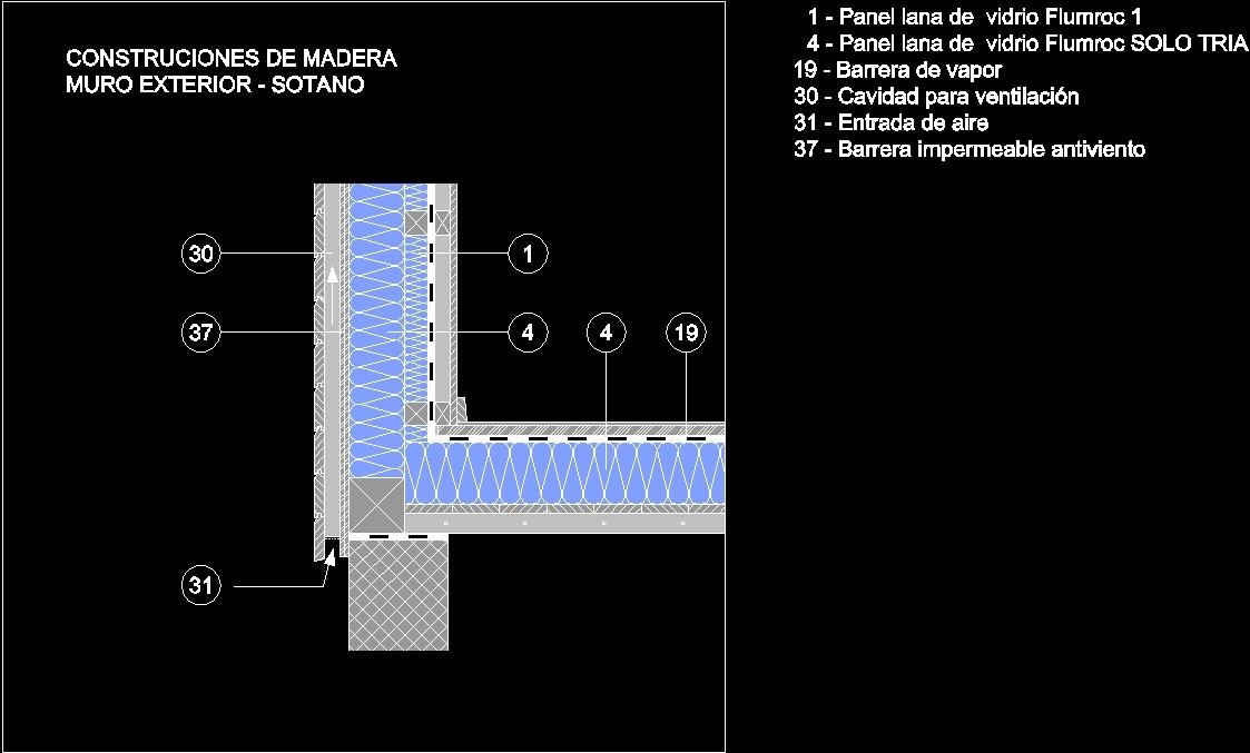 Aislante Termico Arranque De Muros Dwg Detail For Autocad