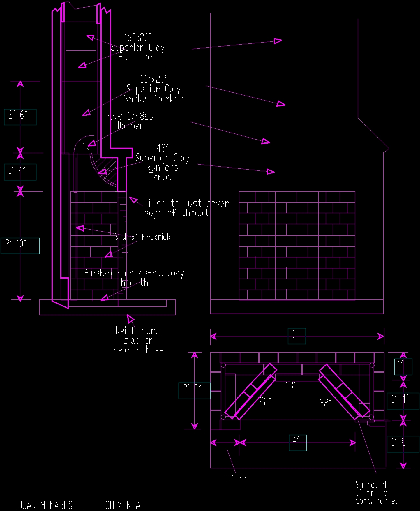Chimneys Dwg Block For Autocad Designs Cad