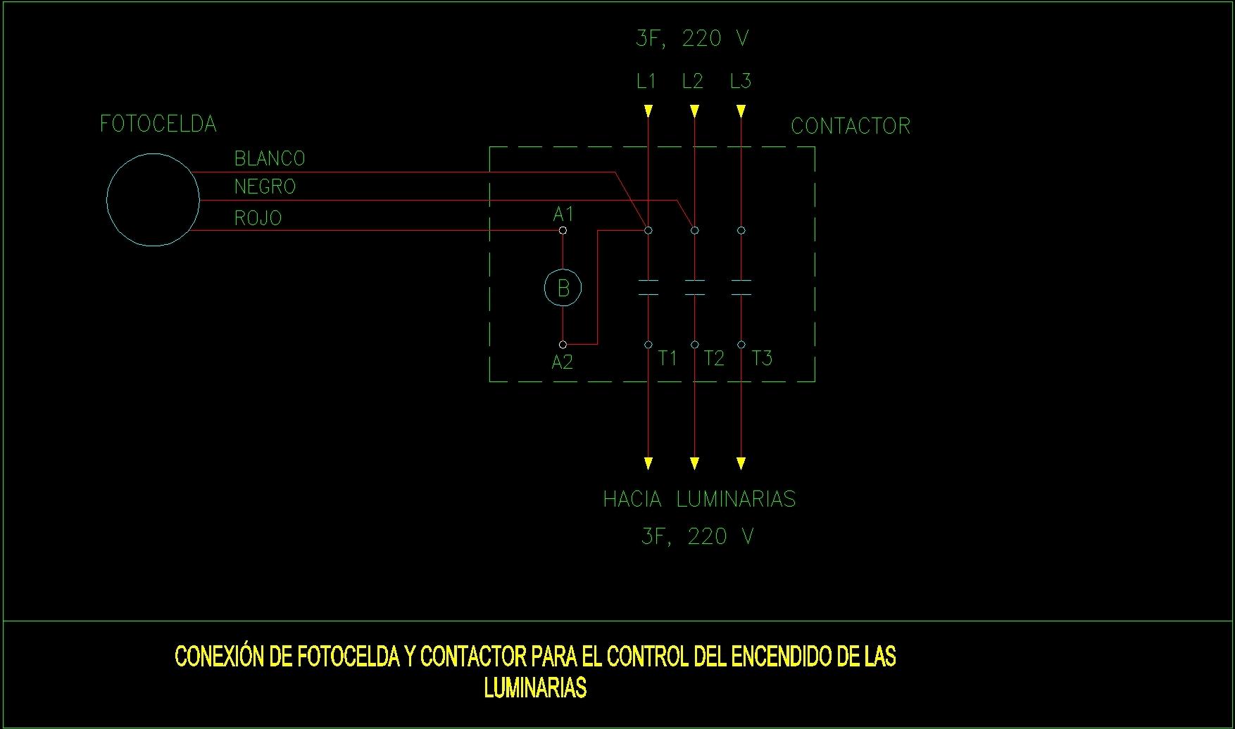 Motor Starter Wiring Schematic Autocad Electrical Diagrams Diagram In Mercury Single Pole Contactor Schematics