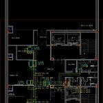 Cool Air – Layout DWG Block for AutoCAD