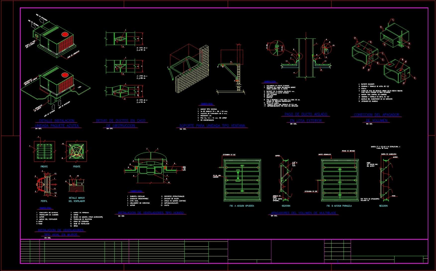 Cooling Details Dwg Detail For Autocad Designs Cad