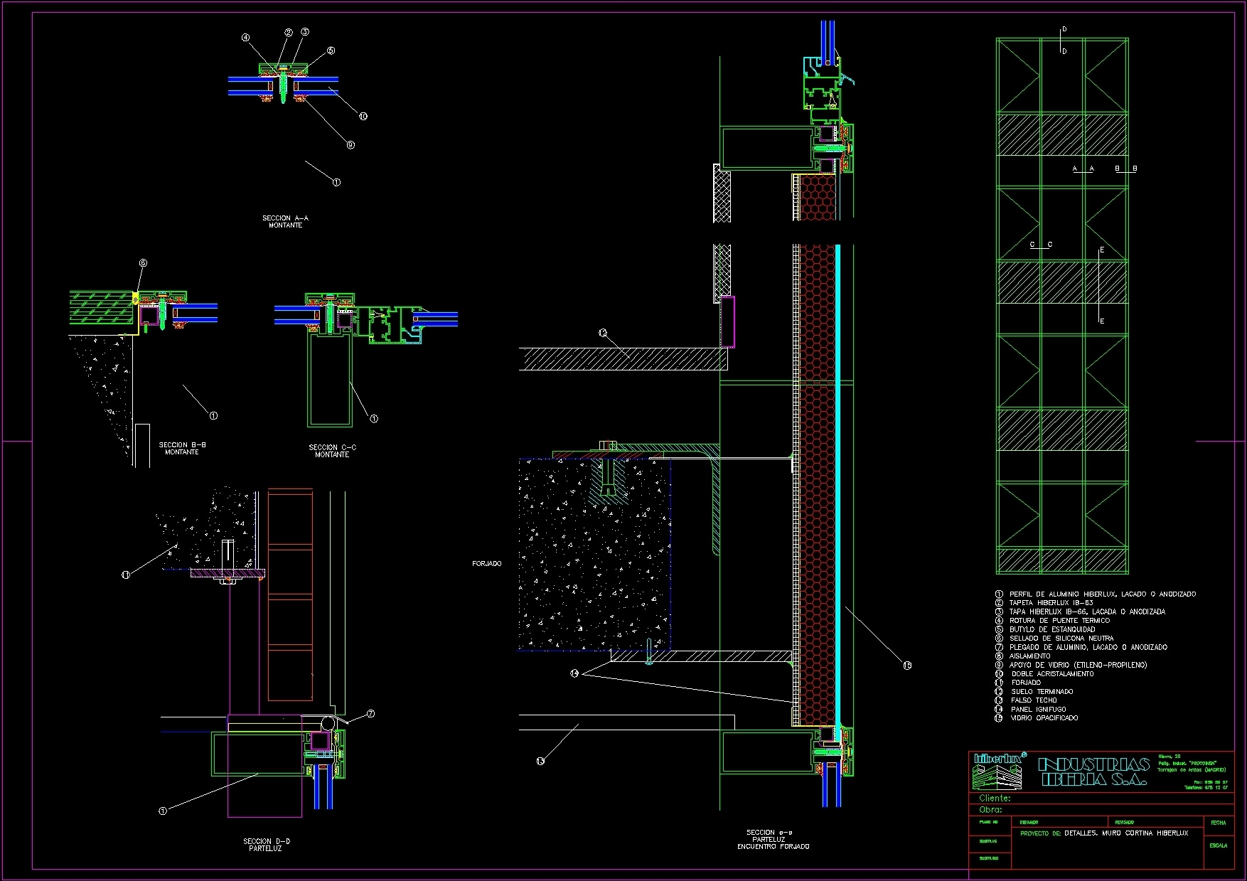 Curtain Wall Details Dwg Detail For Autocad Designs Cad