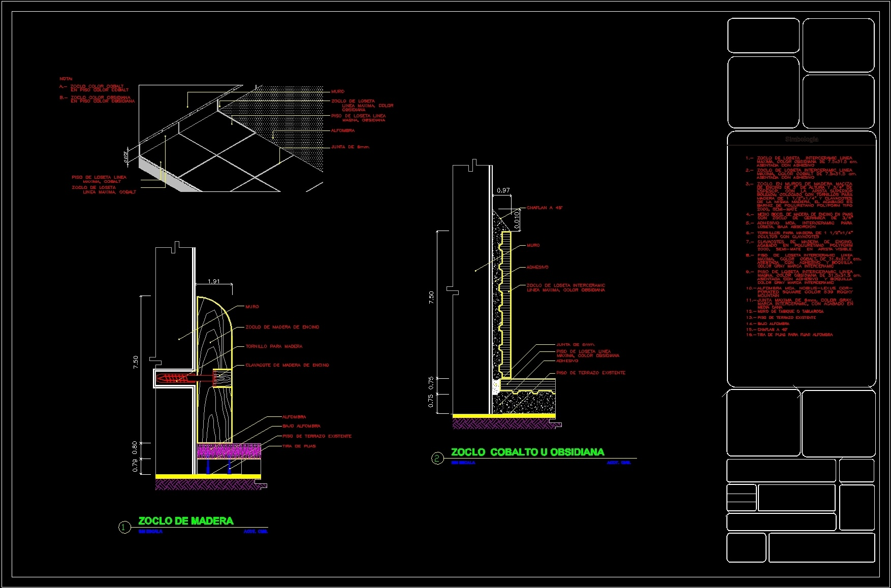 Detail Place Skirting Dwg Detail For Autocad Designs Cad