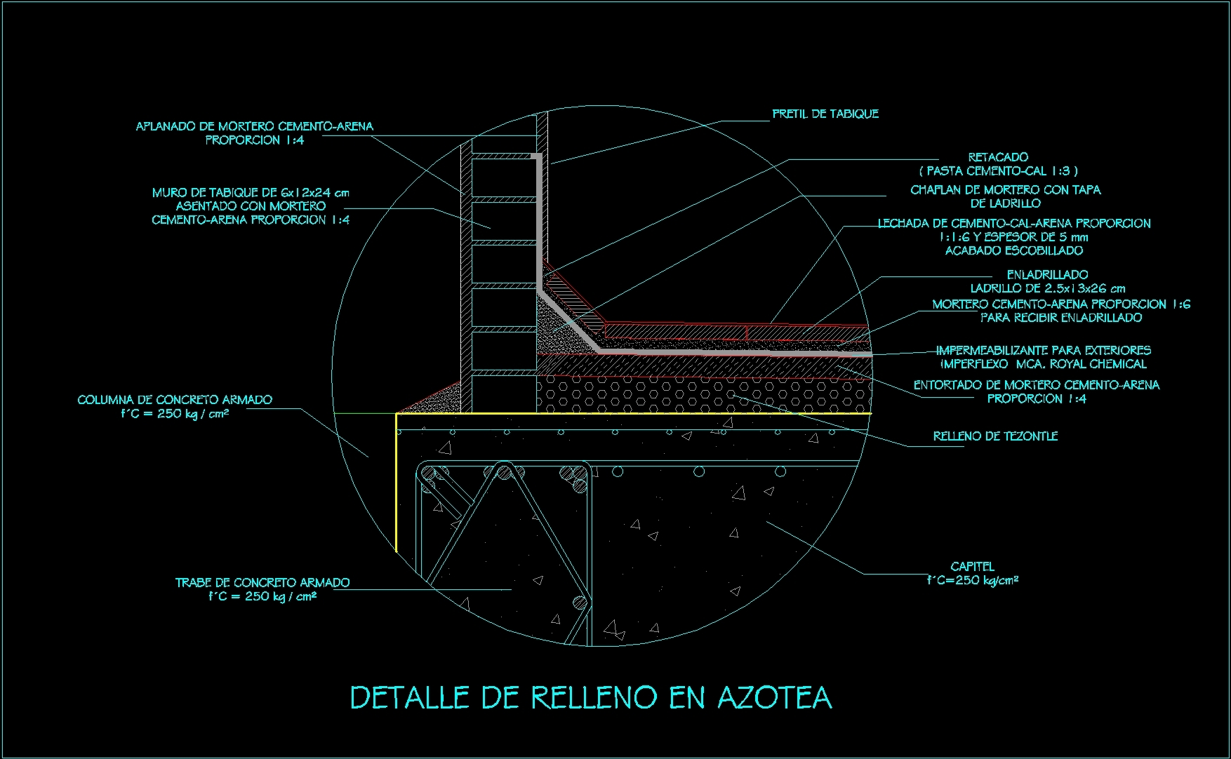 Detail Terrace Dwg Detail For Autocad Designs Cad