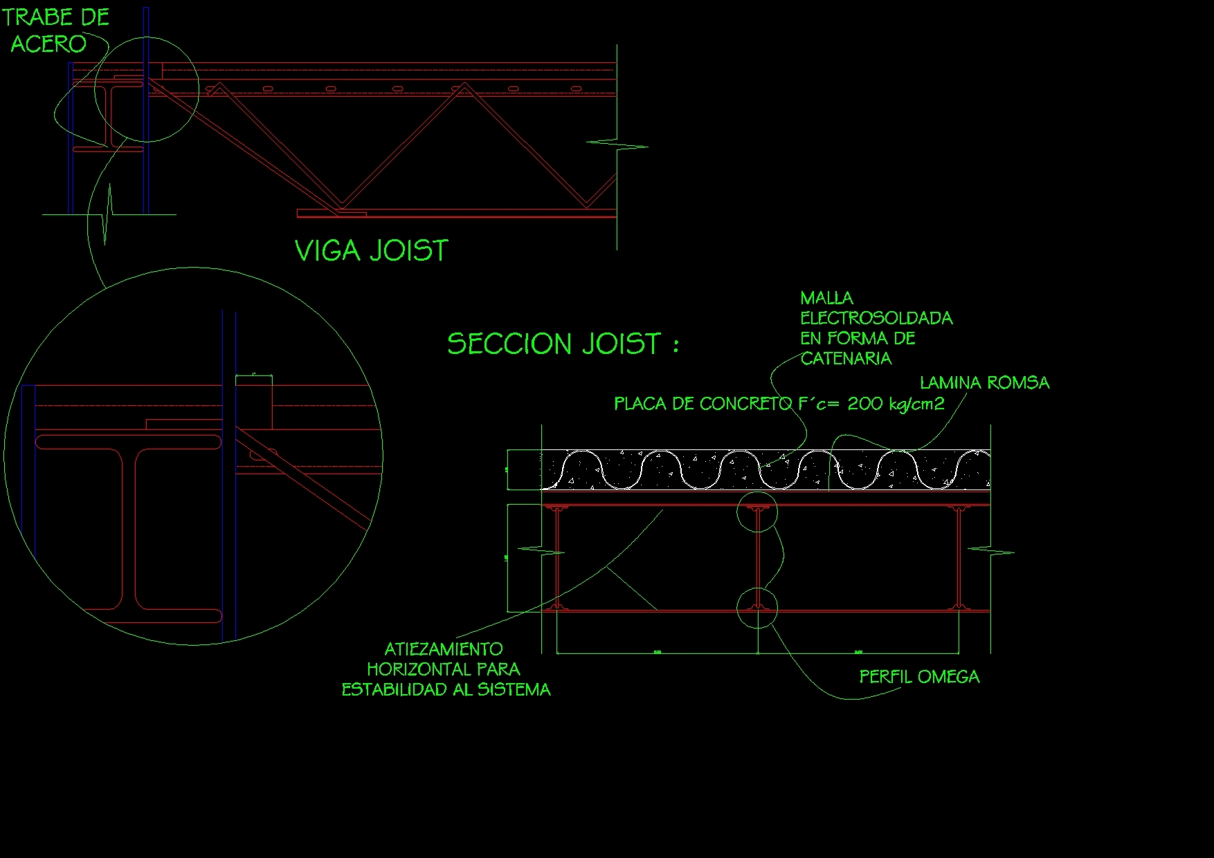 Details Joist Beam DWG Detail for AutoCAD – Designs CAD