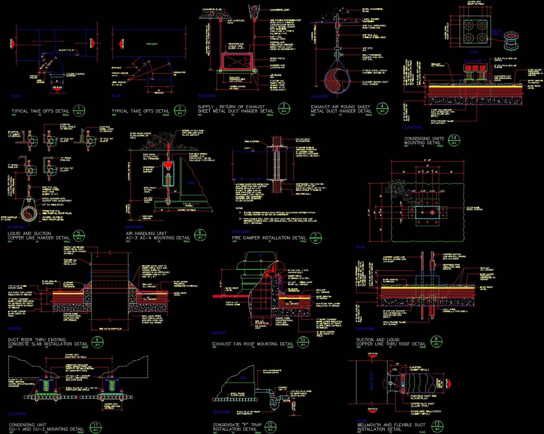 Details Of Air Conditioning Dwg Detail For Autocad