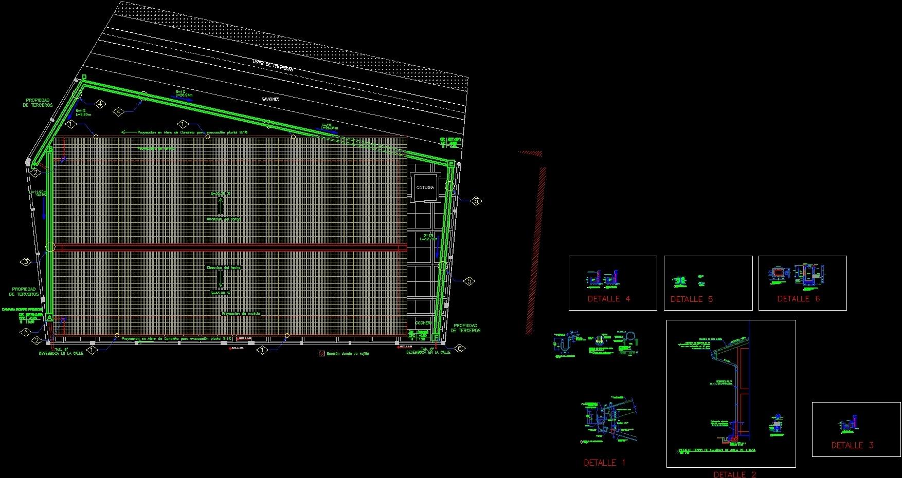 Details Storm Evacuation Dwg Detail For Autocad Designscad