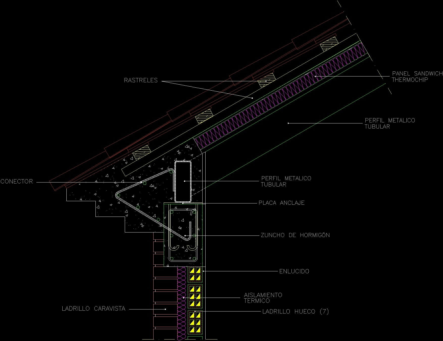 Roof Details Dwg Detail For Autocad Designs Cad
