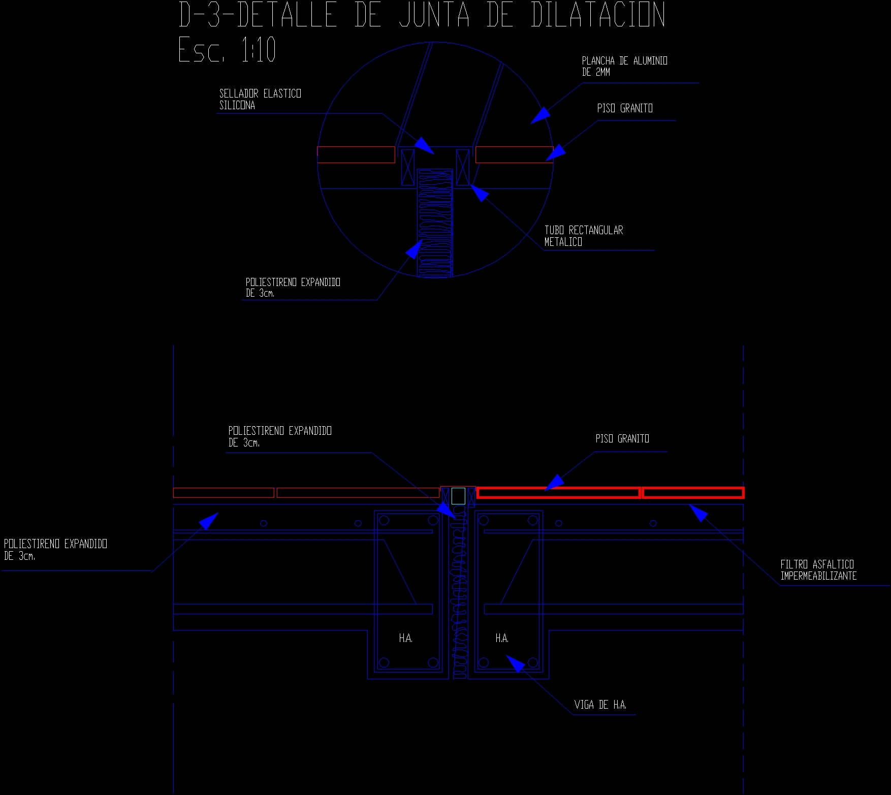 Dilation Joint Dwg Detail For Autocad Designs Cad Electrical Drawing Symbols File Type