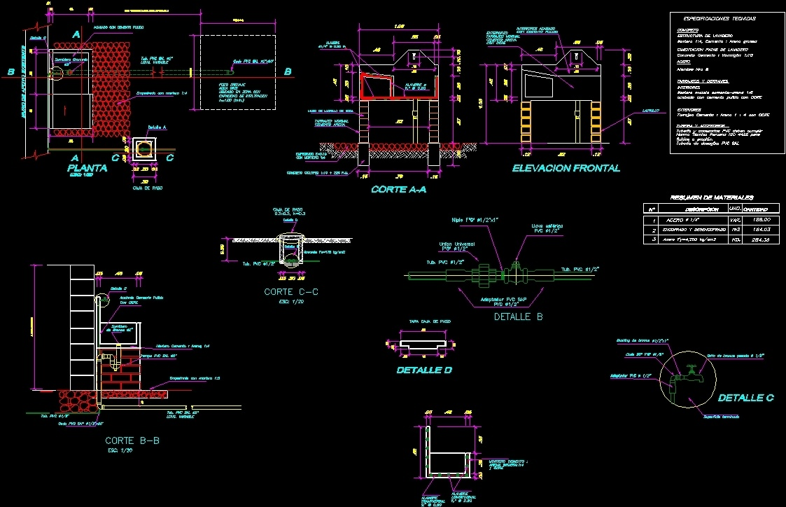 Drinking Water System Plans Dwg Plan For Autocad Designs Cad
