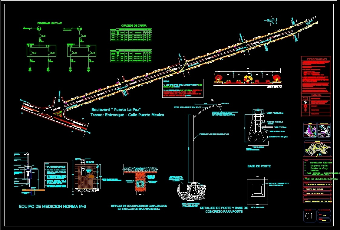 Electric Lighting Project Dwg Full Project For Autocad  U2013 Designs Cad