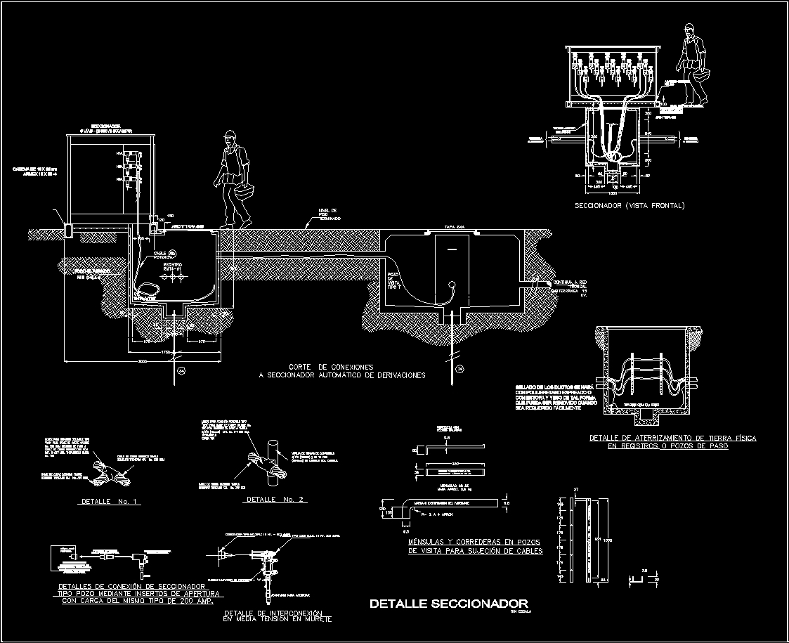 Electric Switch Details Dwg Detail For Autocad  U2013 Designs Cad