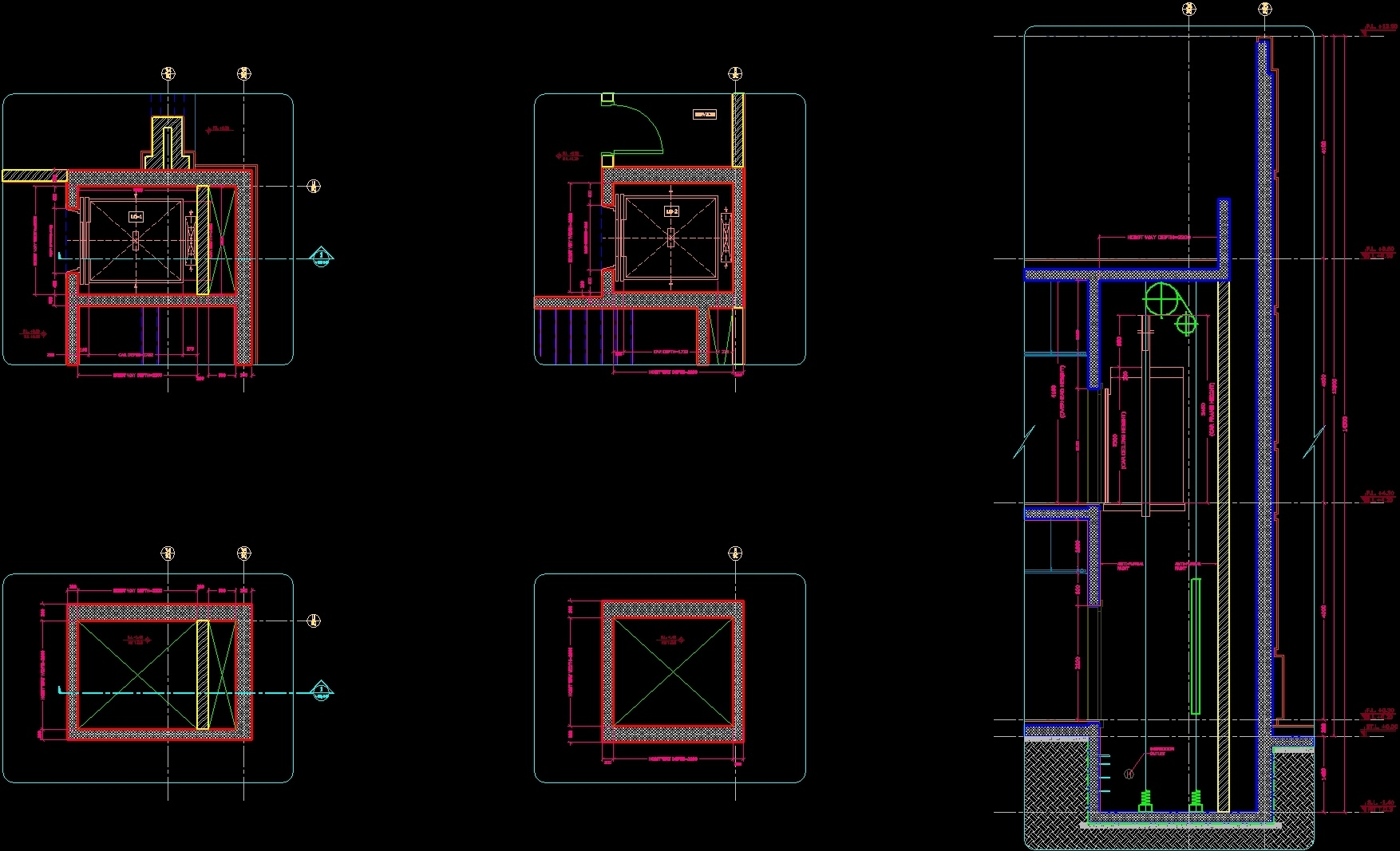 Electrical Plan Elevator Dwg Plan For Autocad Designs Cad