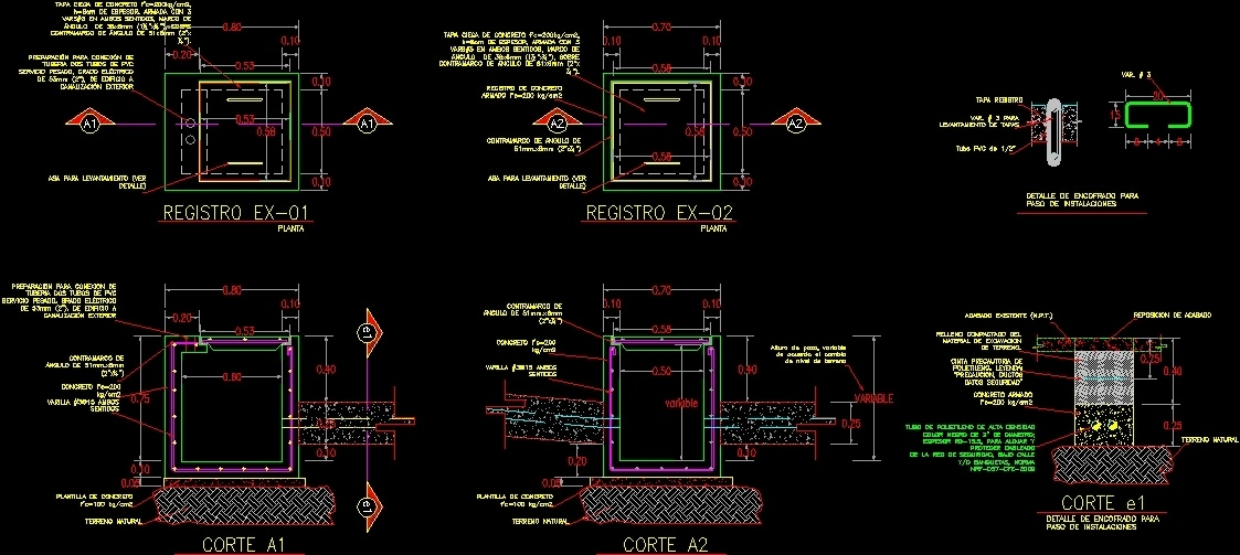 Formwork Step Detail Facilities Dwg Detail For Autocad
