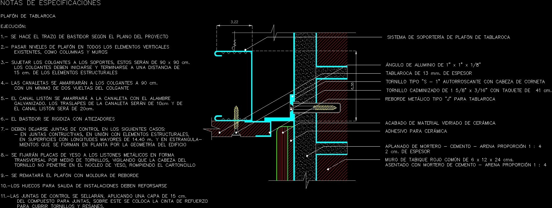 Hanging Ceiling Dwg Detail For Autocad Designs Cad