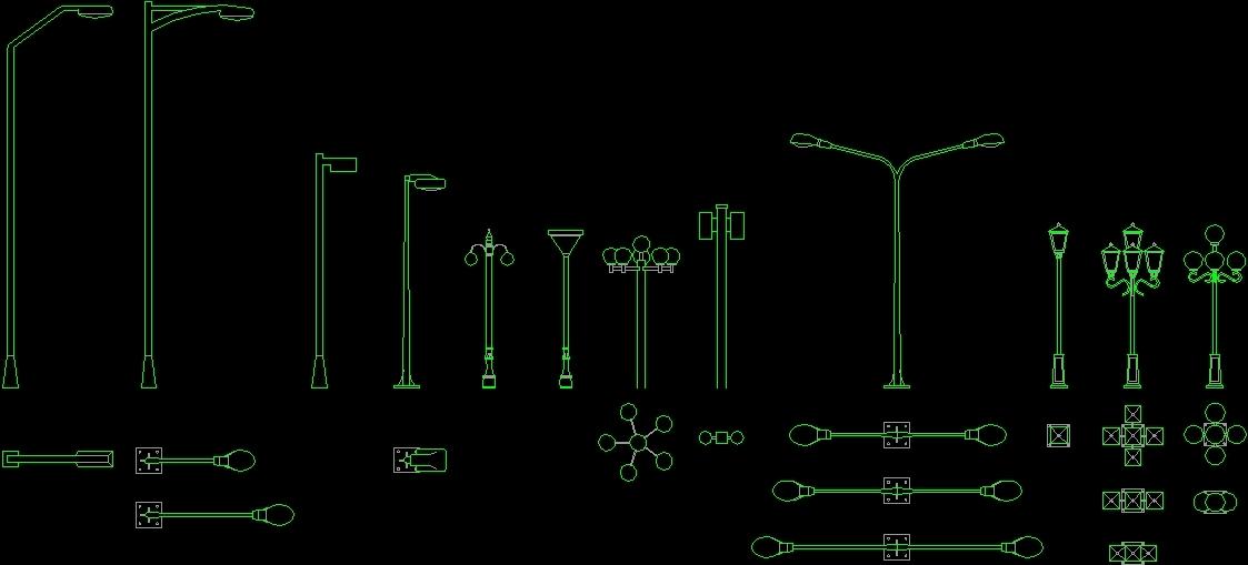 Lighting 2d Dwg Plan For Autocad Designs Cad