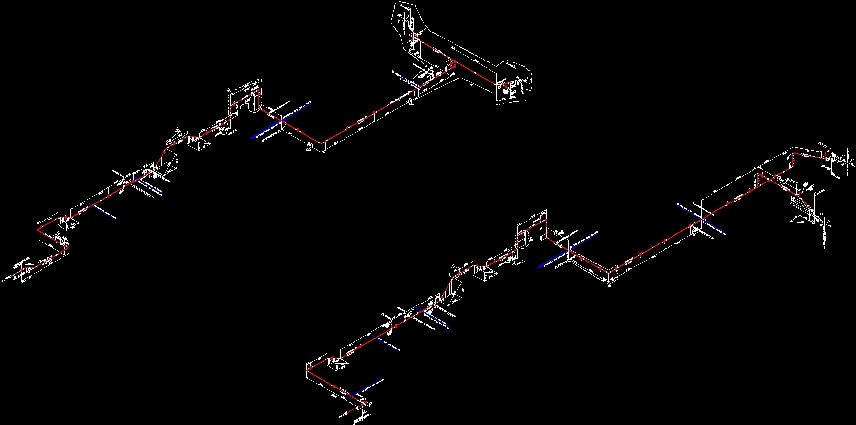 Piping Isometric DWG Block for AutoCAD