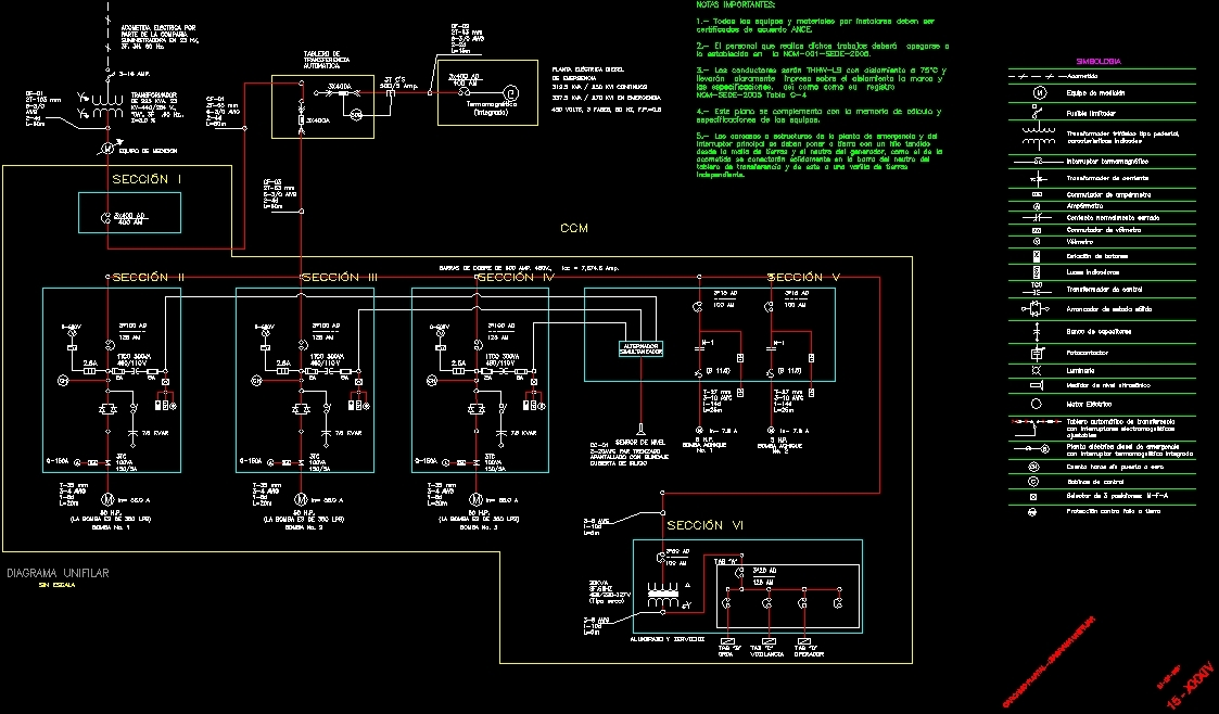 pumping c u00c1rcamo plans dwg plan for autocad  u2013 designs cad