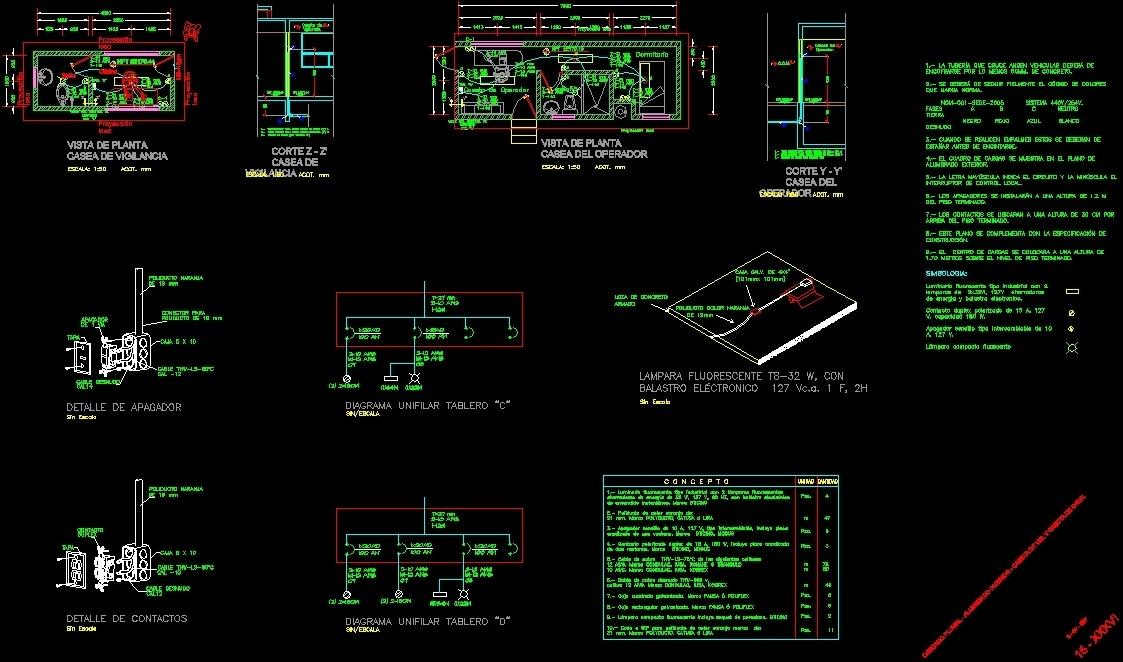 pumping c u00c1rcamo plans dwg plan for autocad  u2013 designs cad