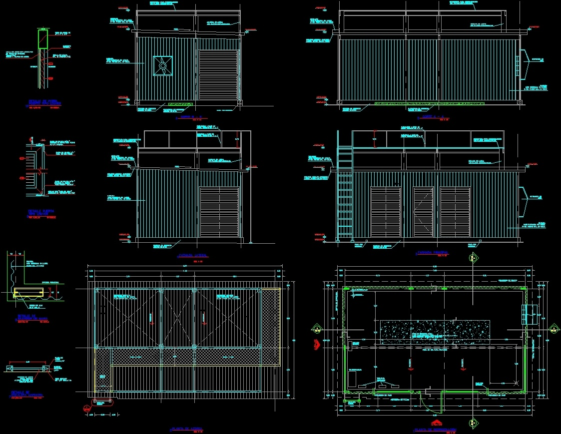 Refrigerator Room Dwg Section For Autocad Designs Cad