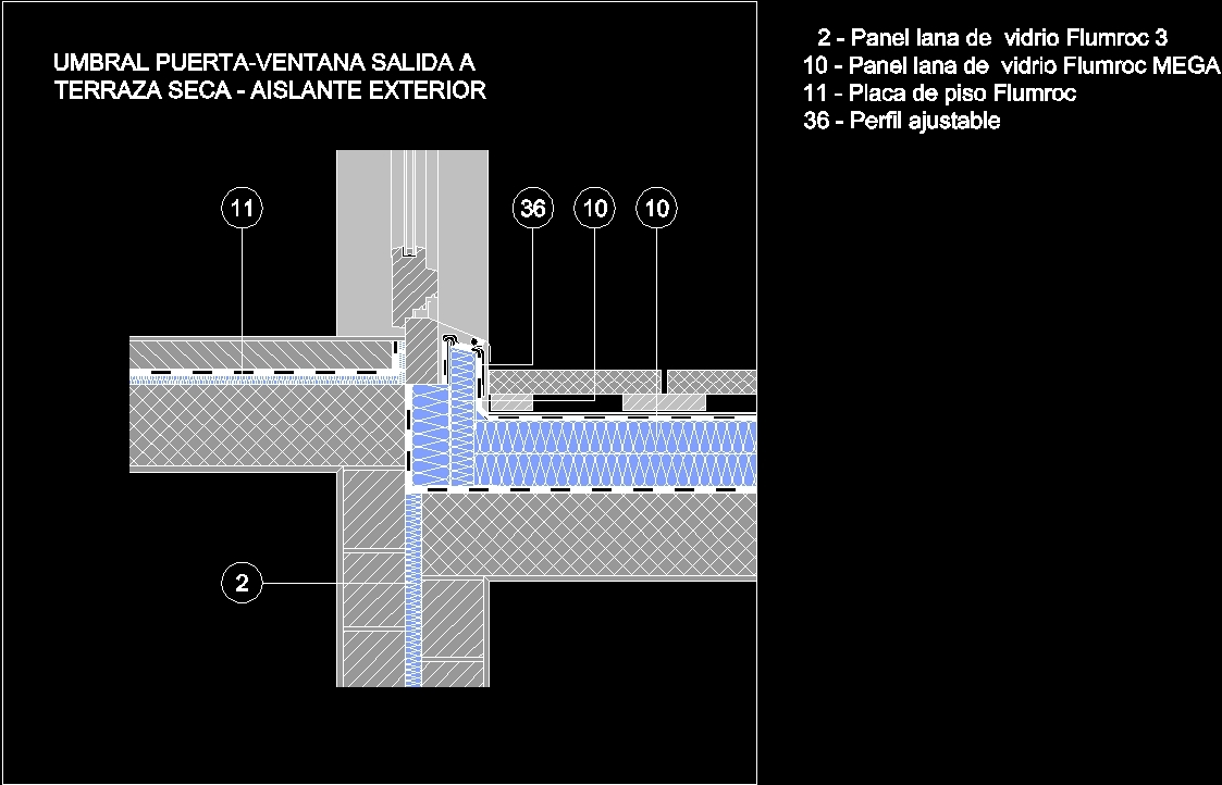 Thermal insulations windows dwg detail for autocad for Thermal windows