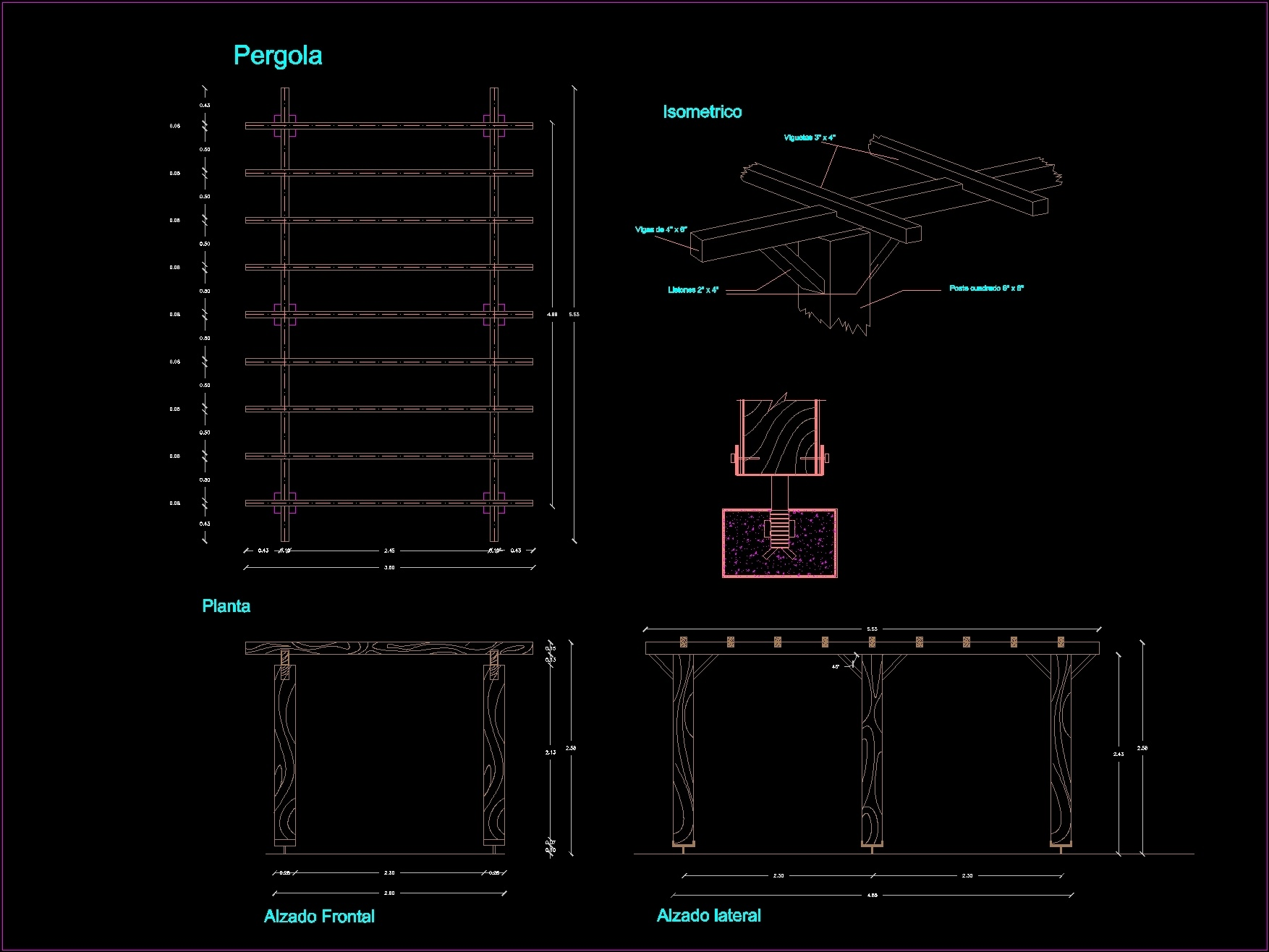 wooden_pergola_dwg_block_for_autocad_982