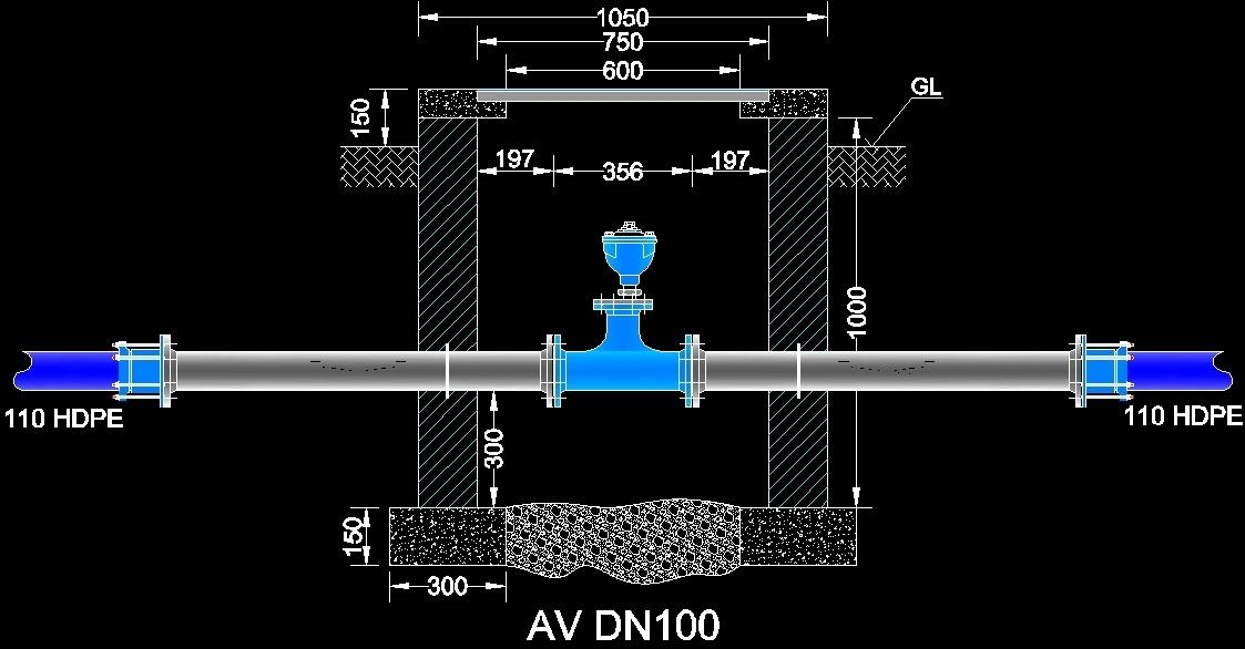 Air Valve Dwg Block For Autocad Designs Cad