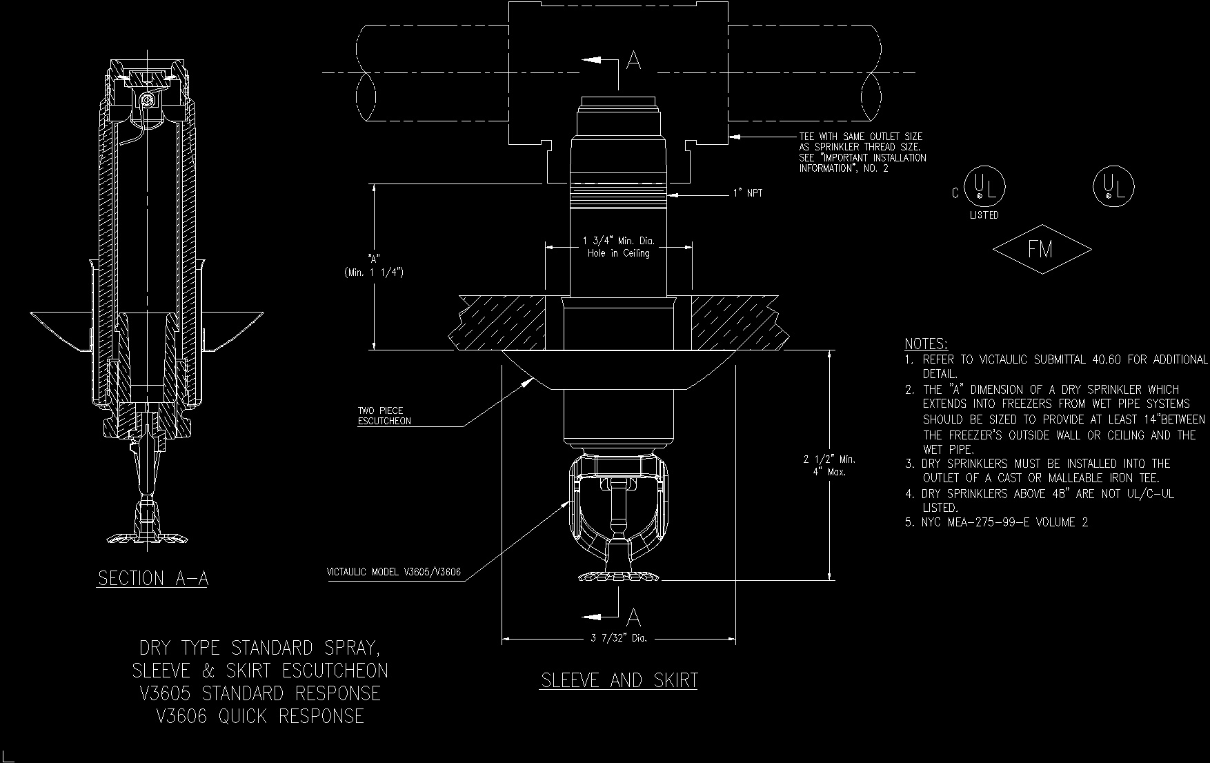 Automatic Sprinkler Detail Dwg Detail For Autocad