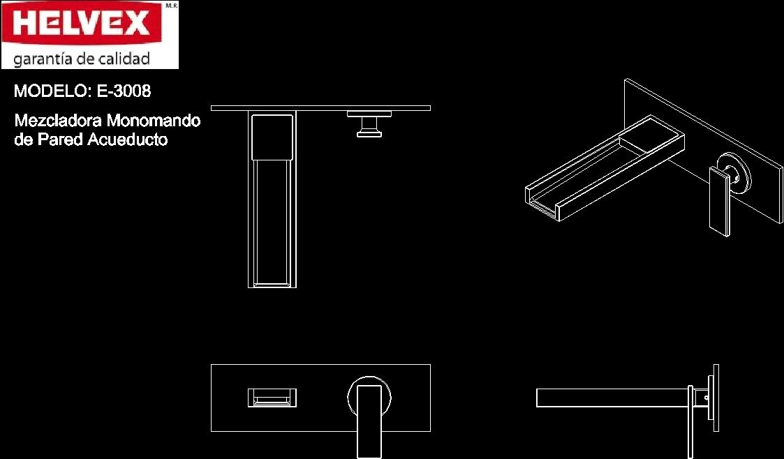 Bathroom Accessories Helvex Dwg Block For Autocad
