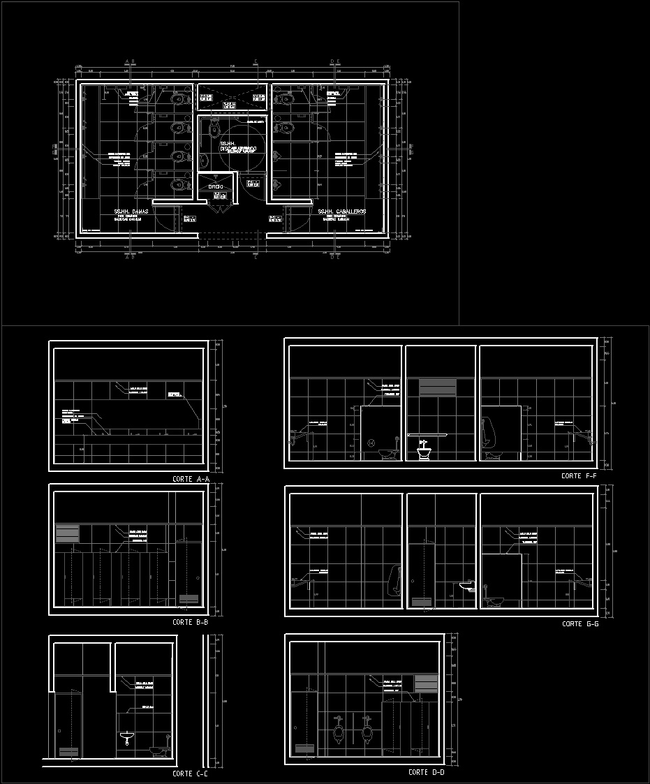 Bathroom detail dwg detail for autocad designscad - Cad bathroom design ...