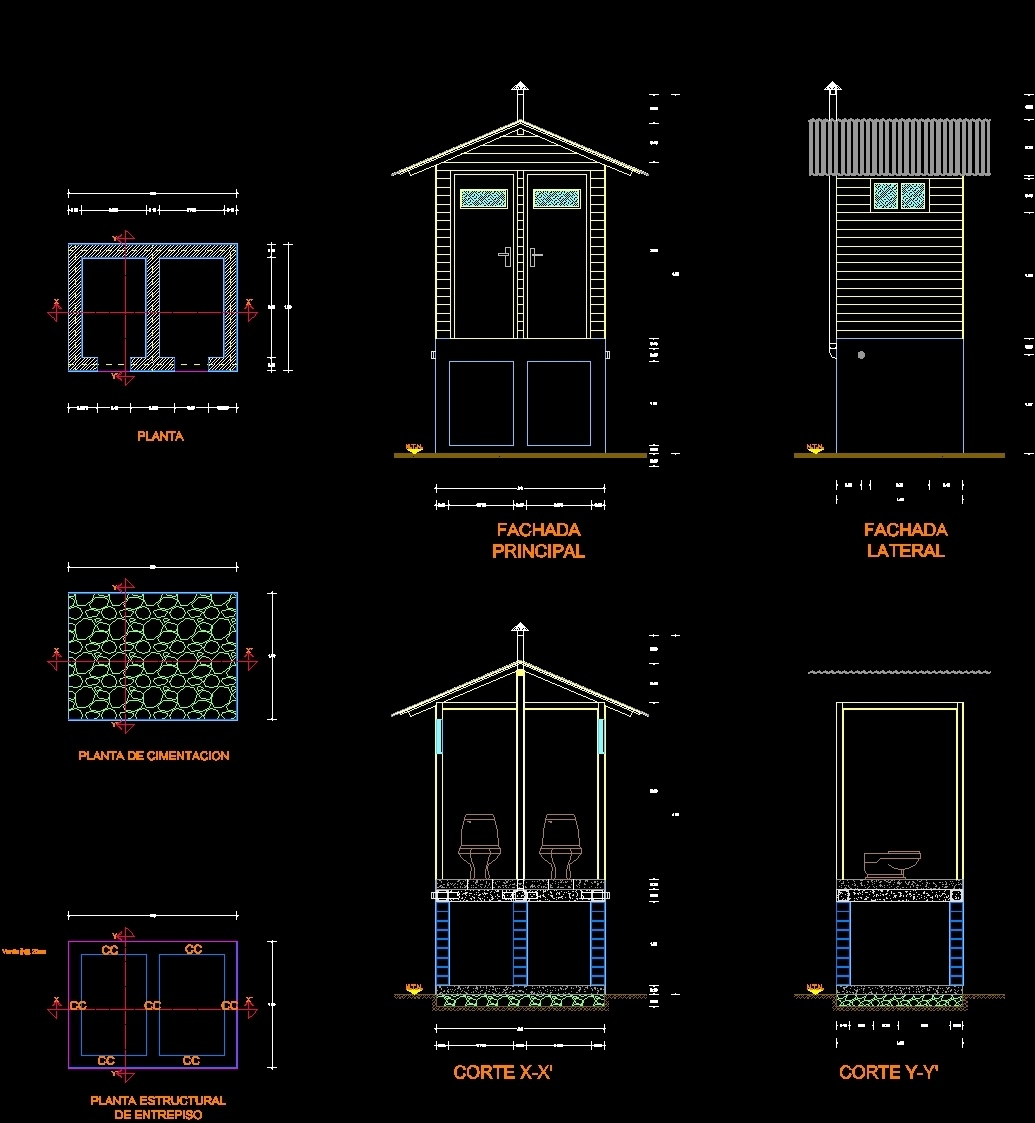 Bathroom Ecological Dwg Block For Autocad Designs Cad