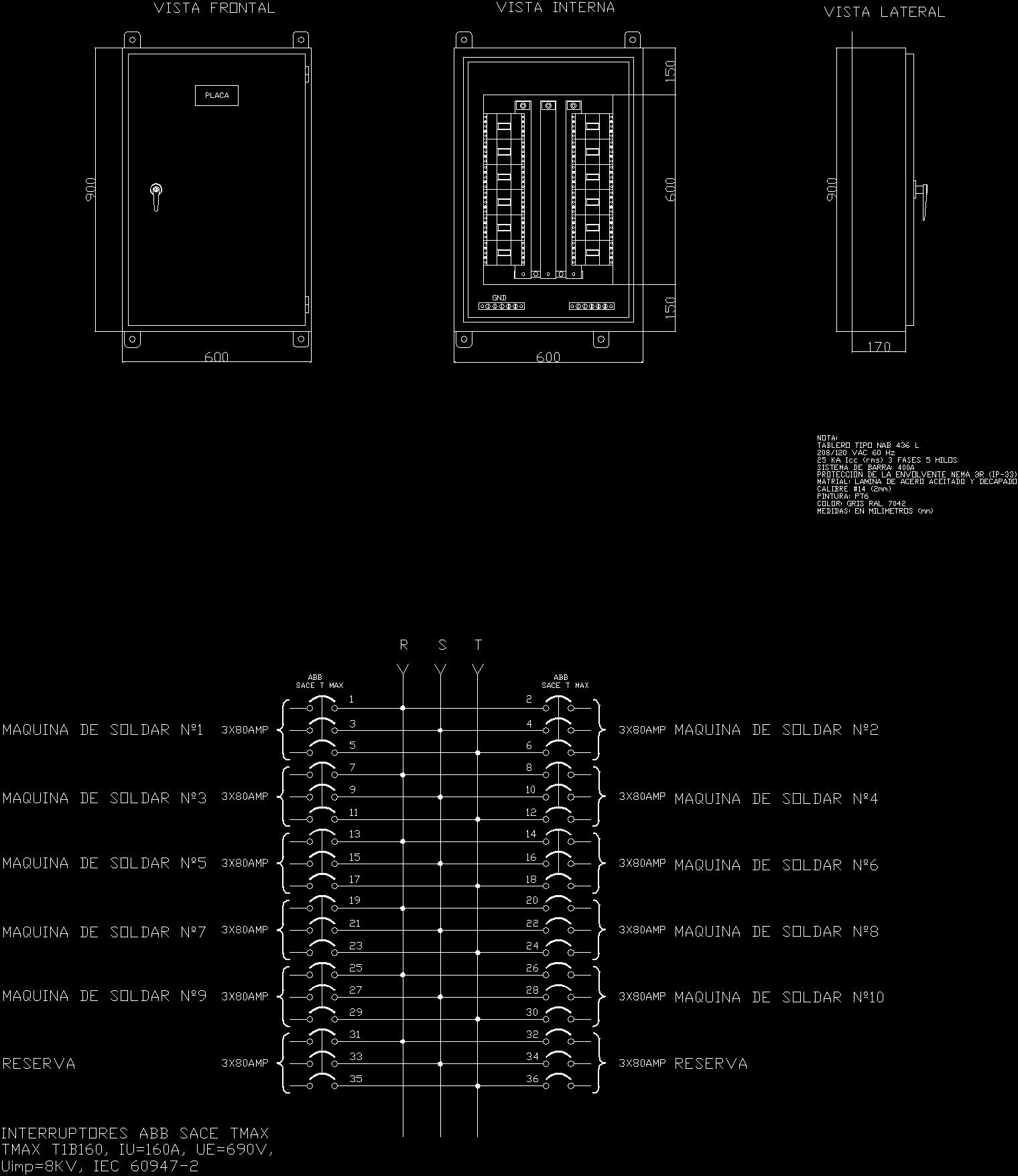 Board Of Welding Machines Dwg Block For Autocad Designs Cad Machine Diagram Additional Screenshots