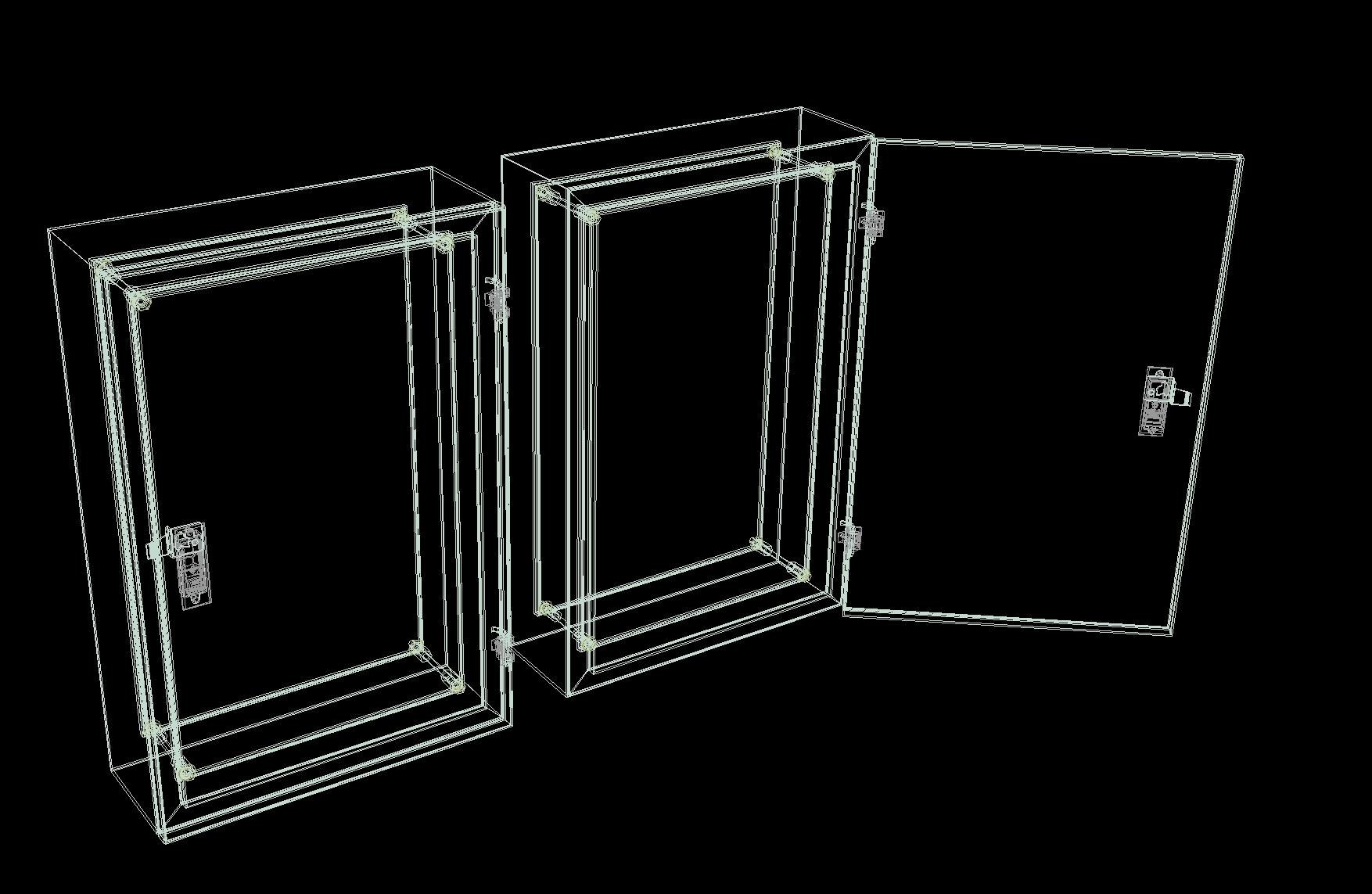 Box Panel Listrik 3d Dwg Model For Autocad Designs Cad