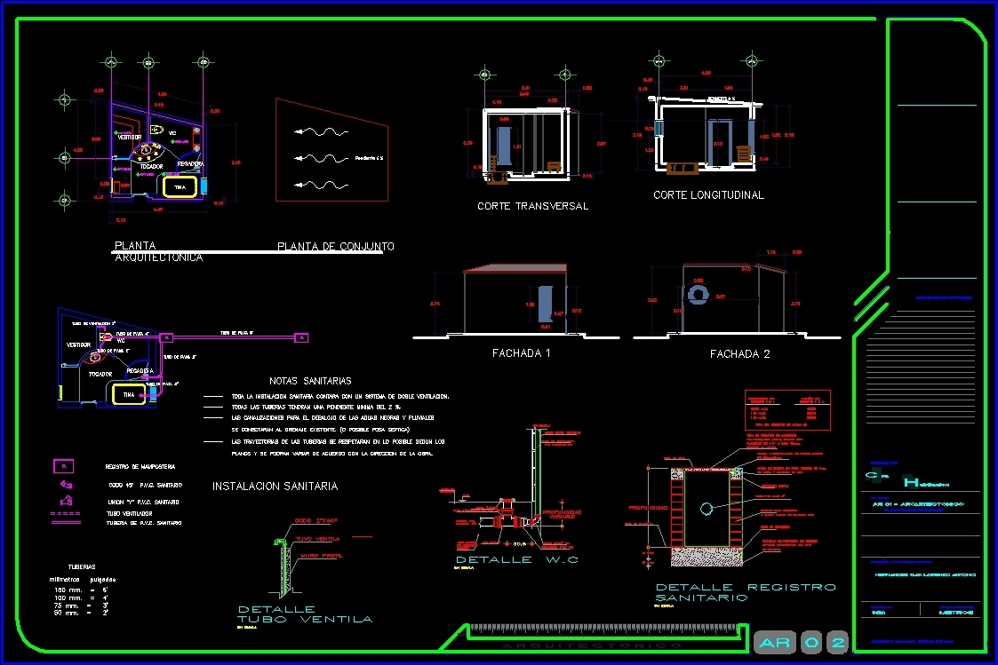 Design bathroom dwg section for autocad designscad - Cad bathroom design ...