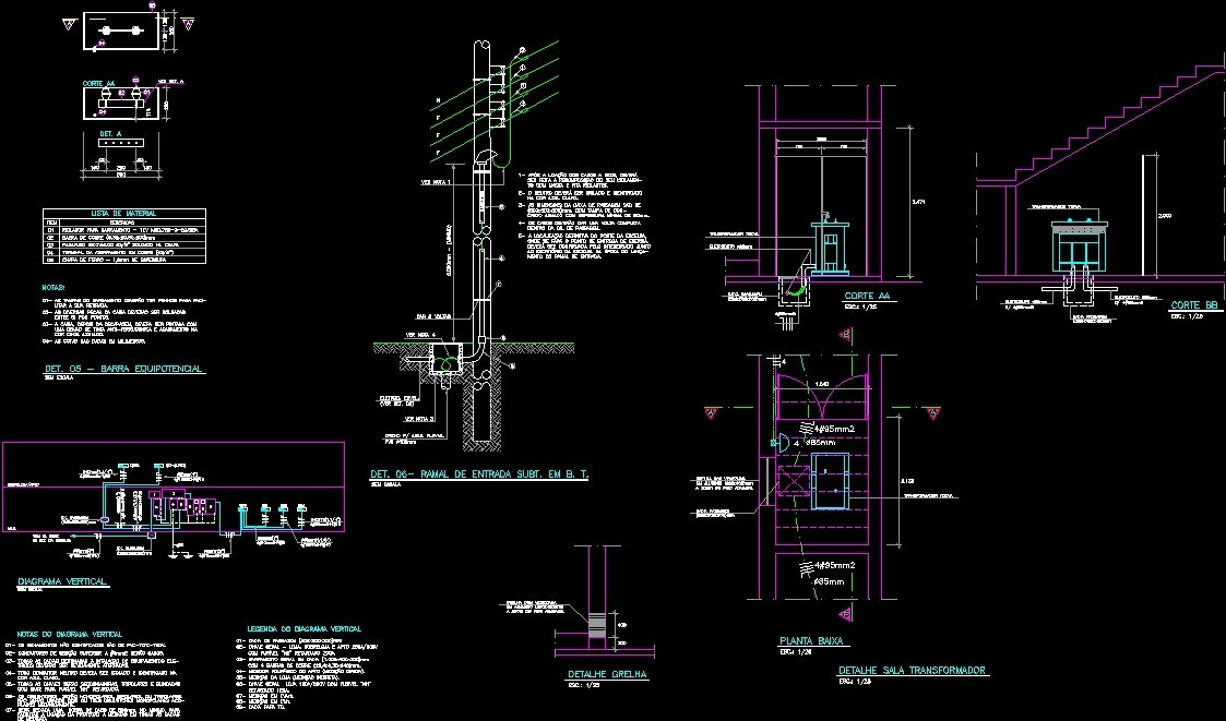 Detail Electric Dwg Detail For Autocad Designscad