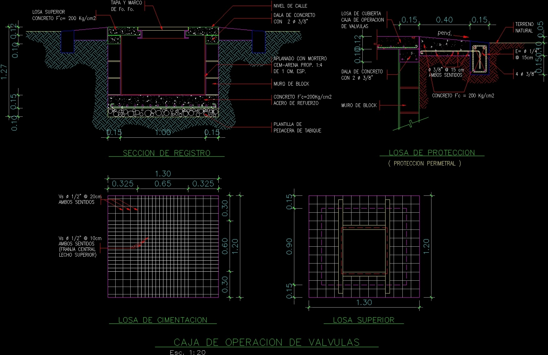 Detail Sanitaries And Hydraulics Dwg Detail For Autocad