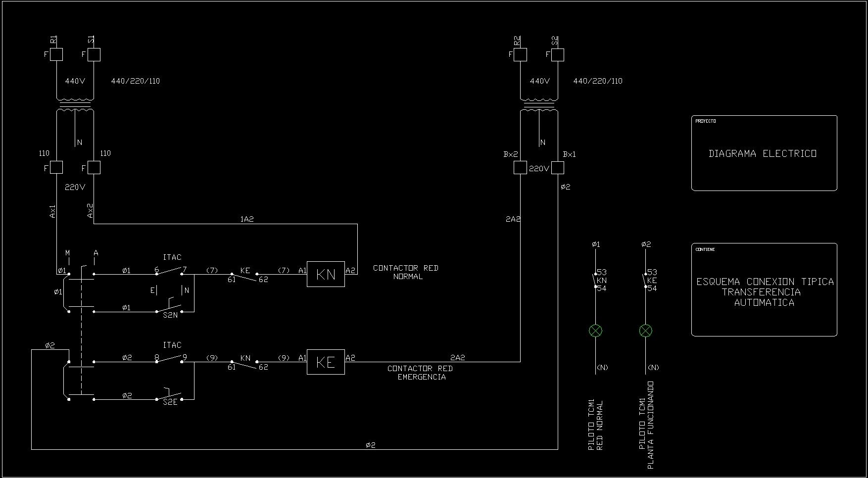 Diagramas El U00c9ctricos Dwg Block For Autocad  U2013 Designs Cad
