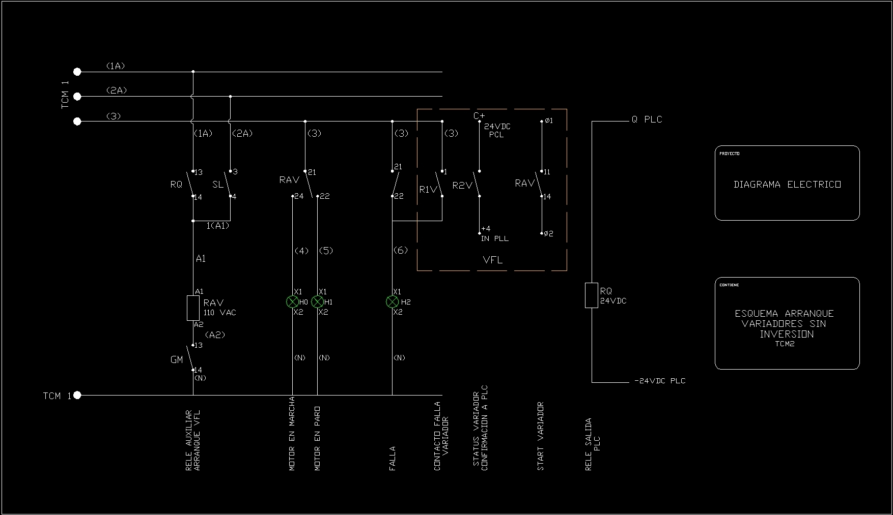 Diagramas El 201 Ctricos Dwg Block For Autocad Designs Cad