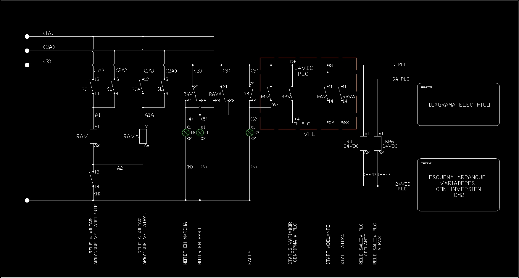 Diagramas El U00c9ctricos Dwg Block For Autocad  U2013 Designs Cad