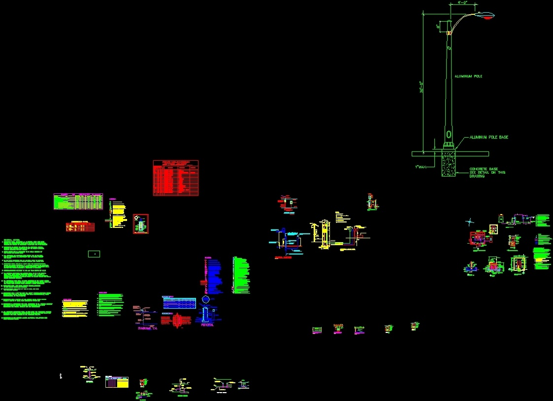 Electric Details Dwg Detail For Autocad Designscad