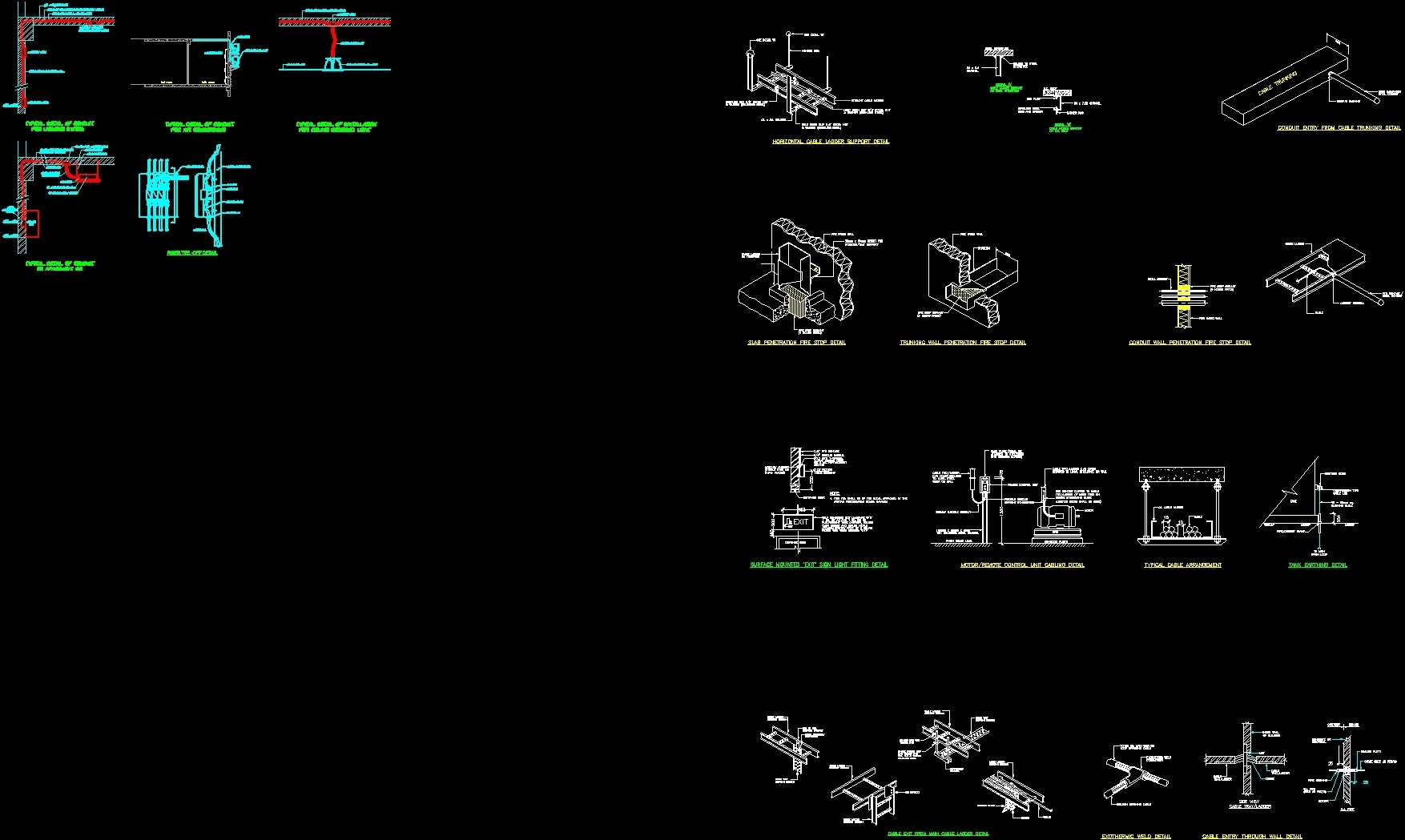 Electrical Detail Dwg Detail For Autocad Designs Cad
